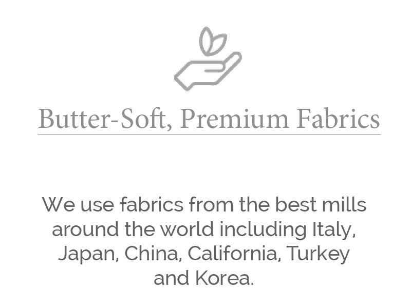 butter soft premium fabrics larger