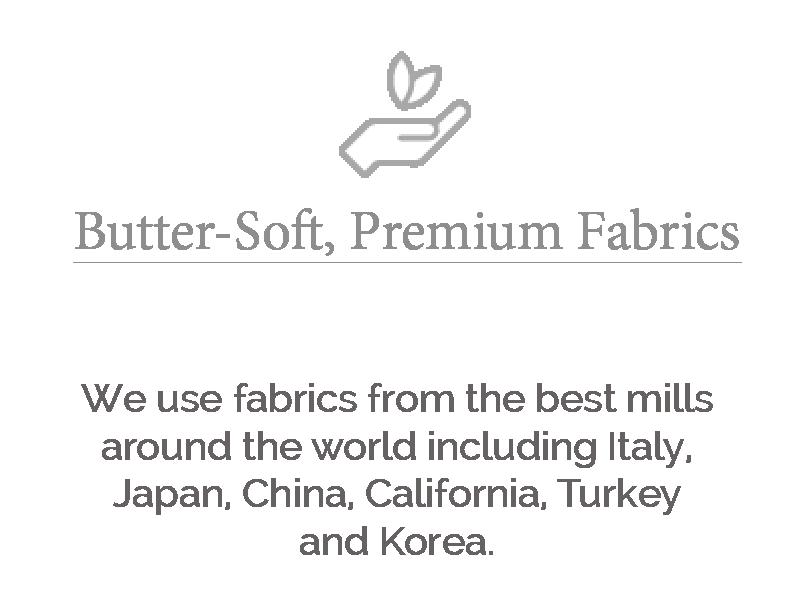butter soft premium fabrics larger