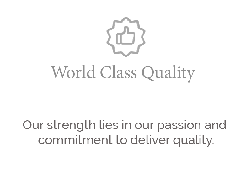 world class quality larger