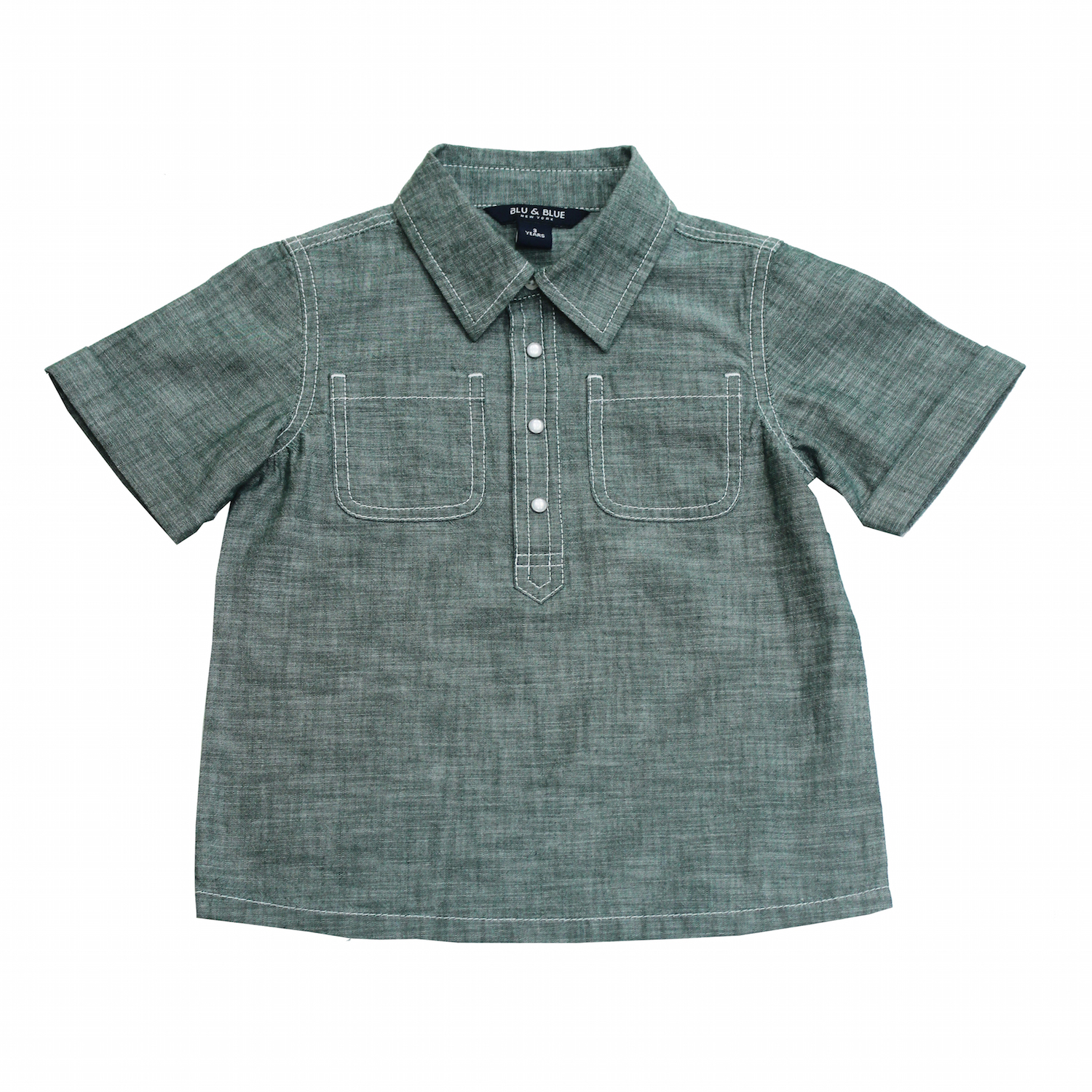 aa8af5662c4 Ryan Summer Green Chambray Shirt