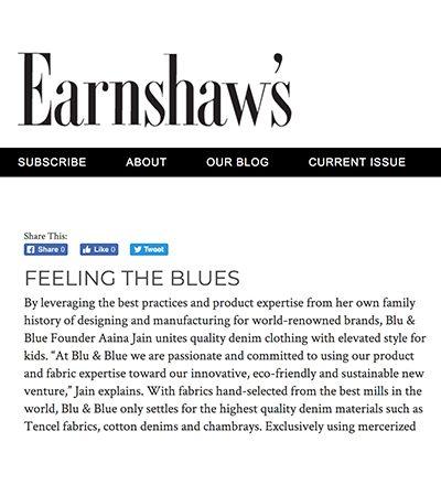 earnshaw magazine