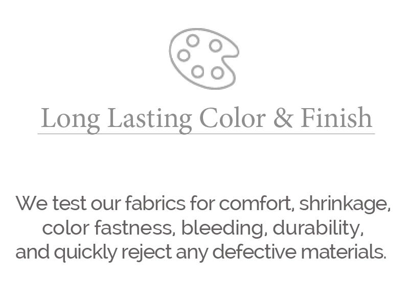 long lasting color & finish larger