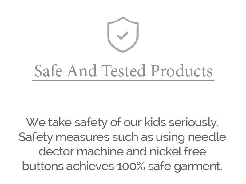 safe and tested products larger